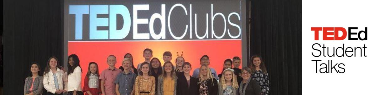 Group of students who presented at our TED Ed Night